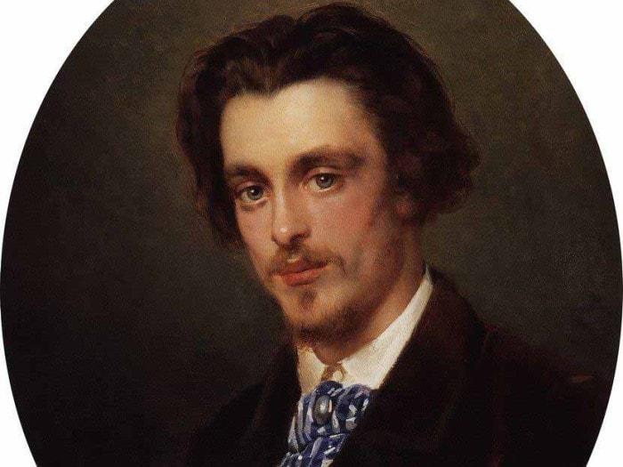 Константин Маковский. Портрет В. Е. Маковского, брата художника, 1868. Фото: Интернет