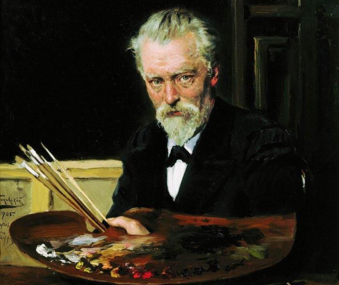 Владимир Маковский. Автопортрет, 1905 | Фото: artchive.ru