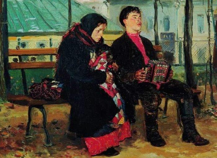 Владимир Маковский. На бульваре. Фрагмент. Фото: Интернет