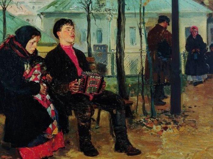 Владимир Маковский. На бульваре. Фрагмент | Фото: artchive.ru