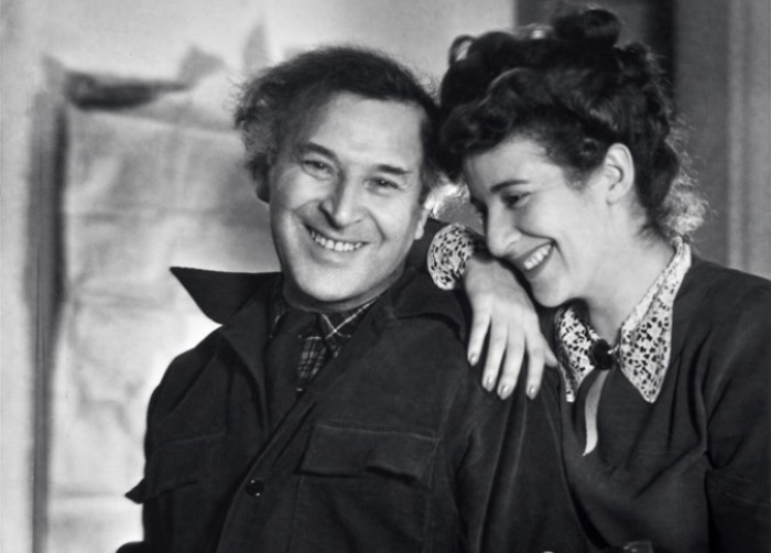 Марк Шагал с дочерью Идой