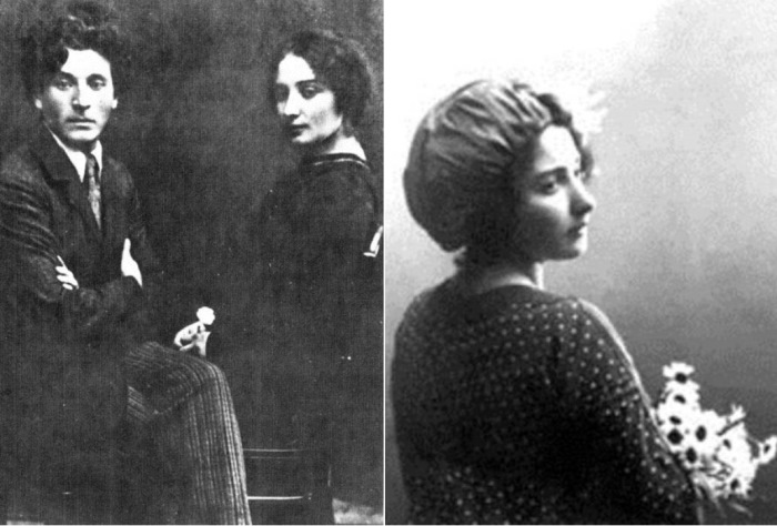 Марк и Белла Шагал, 1922