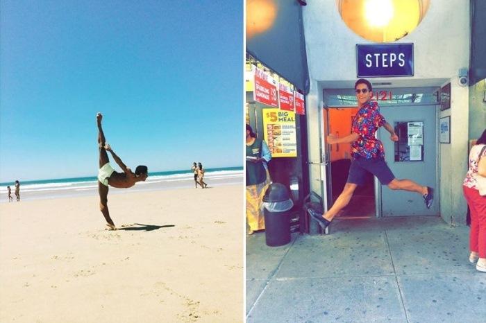 Стандартные пляжные фото – не для танцовщика