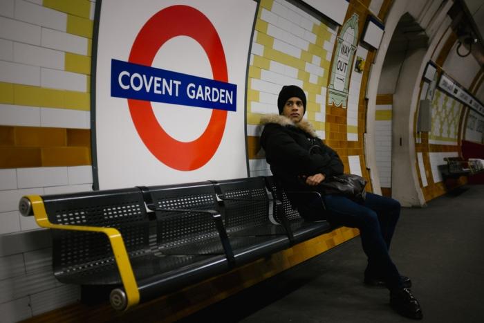 Сложно поверить в то, что этот парень в метро – солист Королевского балета