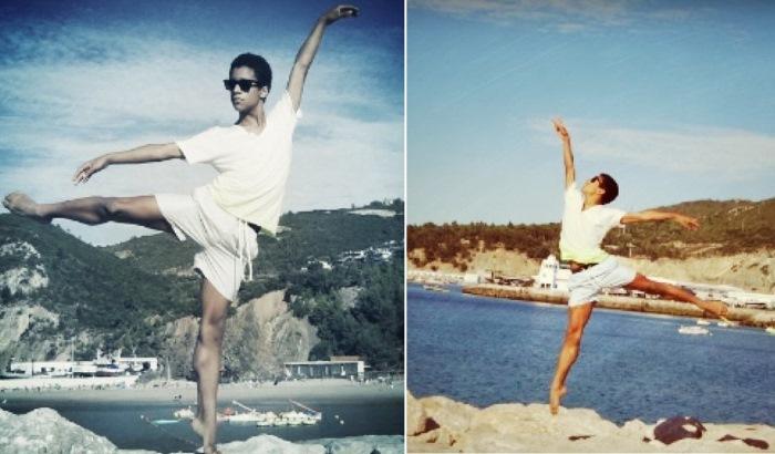 Марселино Самбе занимается танцами с юного возраста