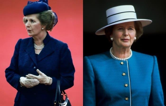 Маргарет Тэтчер очень любила синие костюмы | Фото: elle.ru