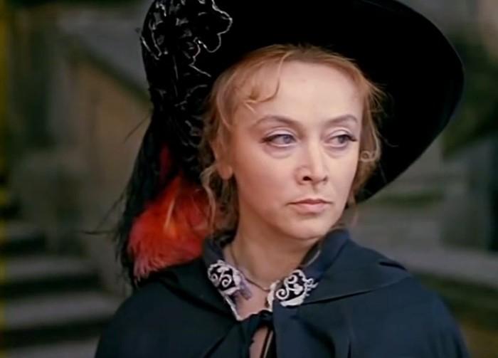 Маргарита Терехова в роли Миледи | Фото: kino-teatr.ru