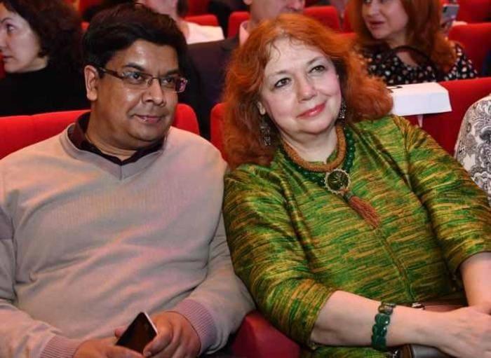 Мария Арбатова и Шумит Датта Гупта   Фото: teleprogramma.pro
