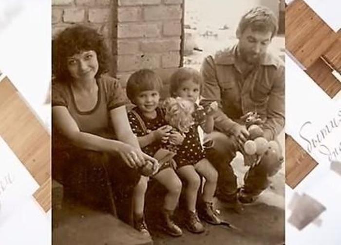 Мария с первым мужем и сыновьями   Фото: passion.ru