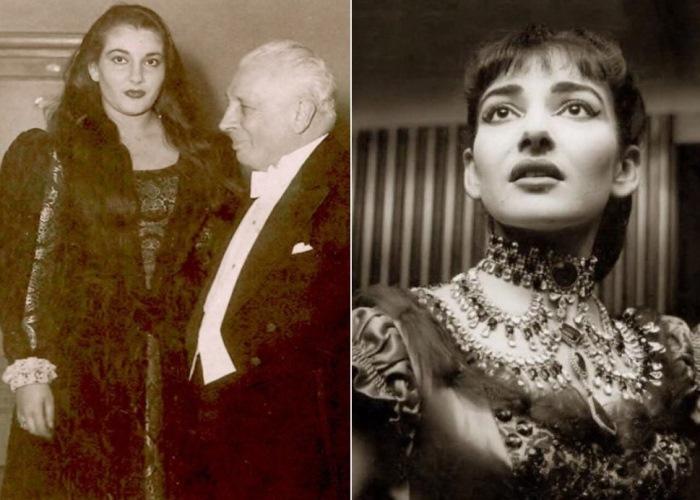 Мария Каллас и Туллио Серафин, 1949 г. | Фото: top-antropos.com