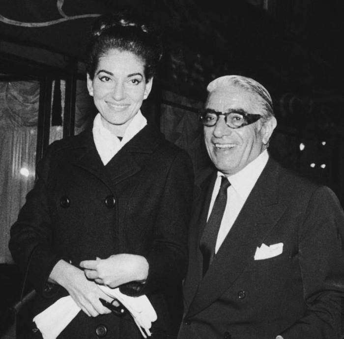 Мария Каллас и Аристотель Онассис, 1960 г. | Фото: top-antropos.com