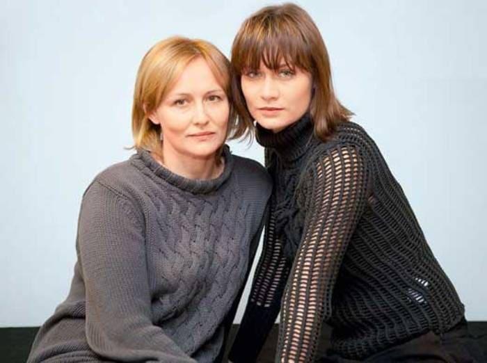 Мария Машкова с матерью, актрисой Еленой Шевченко | Фото: stuki-druki.com