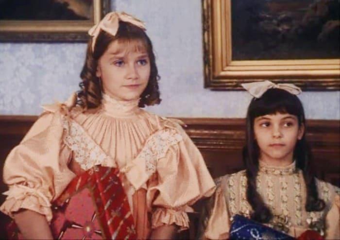 Дебютная роль Марии Машковой в фильме *Маленькая принцесса*, 1997 | Фото: kino-teatr.ru