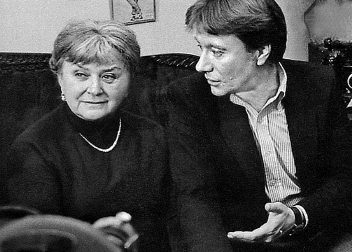 Андрей Миронов с мамой Марией Владимировной | Фото: liveinternet.ru