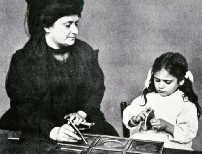 Выдающийся итальянский ученый и педагог Мария Монтессори | Фото: lifter.com.ua