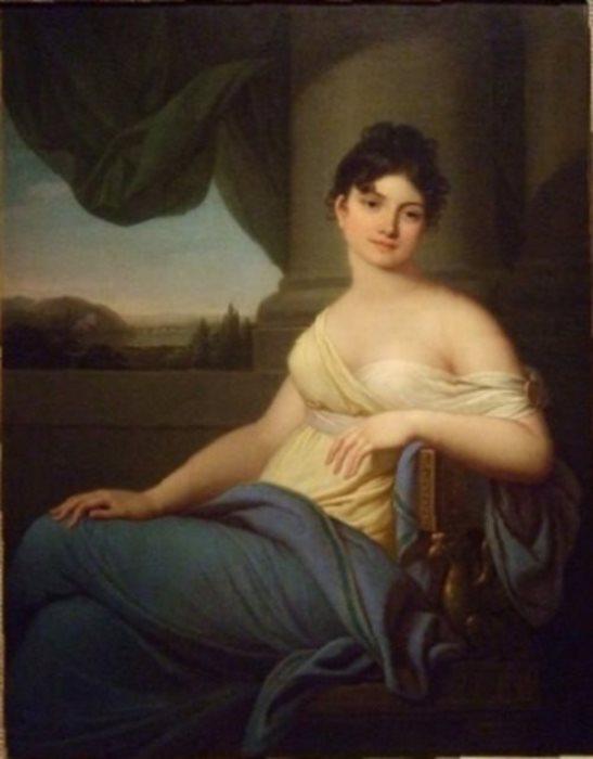 И. Грасси. Портрет Марии Антоновны Нарышкиной, 1807 г.