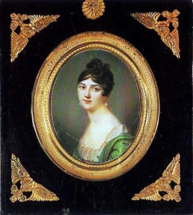 Д. Босси. Мария Антоновна Нарышкина, 1808 г.