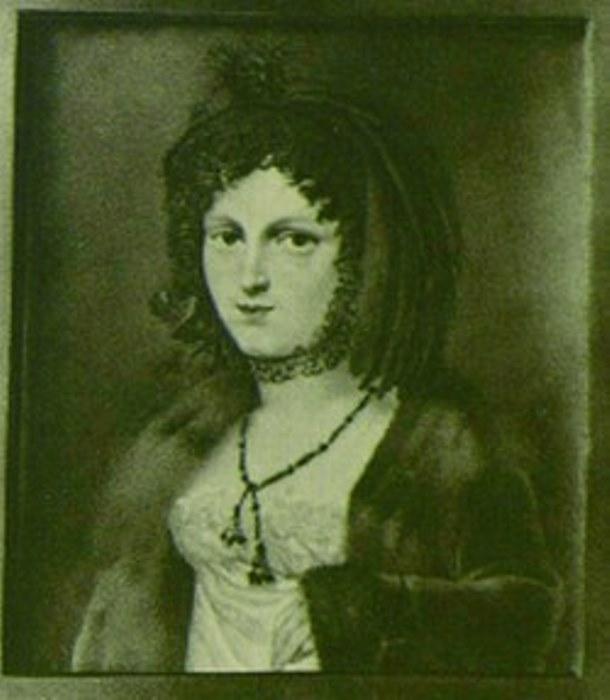 Портрет Марии Антоновны Нарышкиной. Неизвестный художник