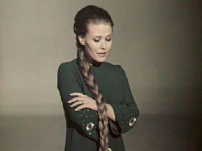 Известная в 1960-1970-х гг. советская певица Мария Пахоменко | Фото: mosvedi.ru