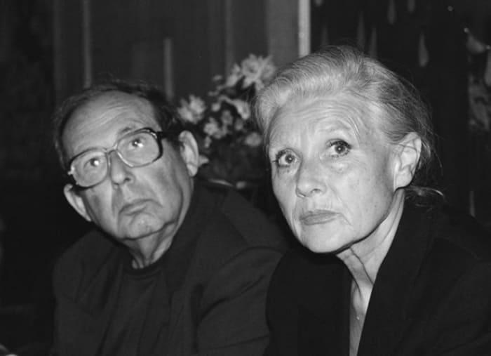 Мария Пахоменко с мужем, композитором Александром Колкером | Фото: 24smi.org