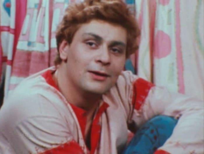 Дмитрий Назаров в фильме-спектакле *Умные вещи*, 1983 | Фото: kino-teatr.ru