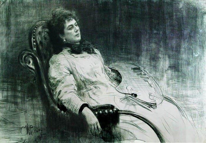 И. Репин. Портрет М. К. Тенишевой, 1898 | Фото: culture.ru