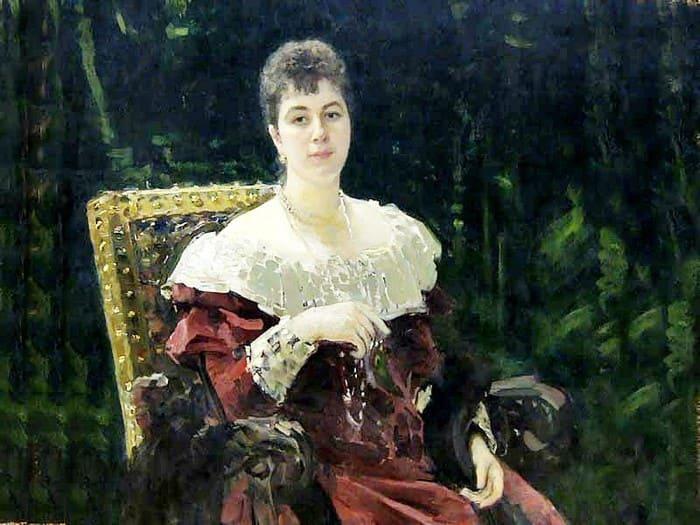И. Репин. Портрет княгини М. К. Тенишевой, 1896 | Фото: culture.ru