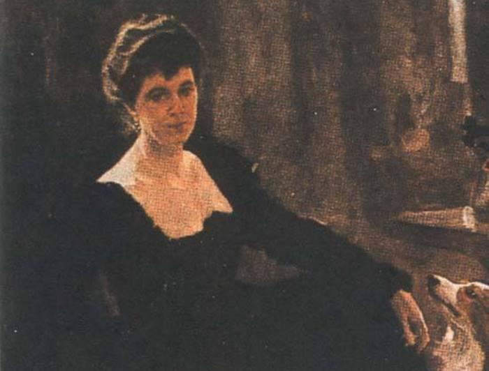 В. Серов. Портрет М. К. Тенишевой, 1898 | Фото: culture.ru