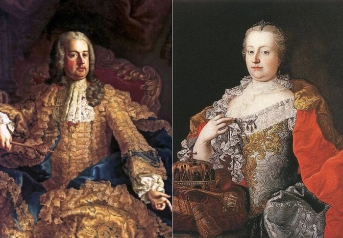 Франц I и Мария Терезия