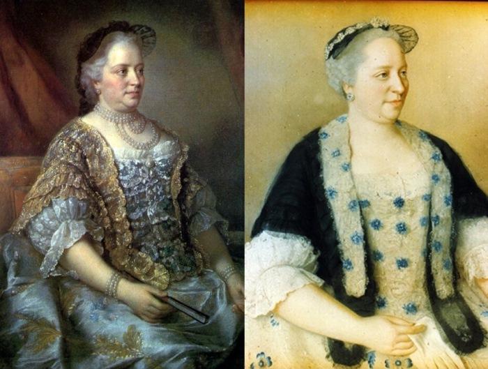 Жан-Этьен Лиотар. Портрет австрийской императрицы Марии Терезии