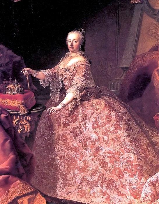 Австрийская императрица Мария Терезия