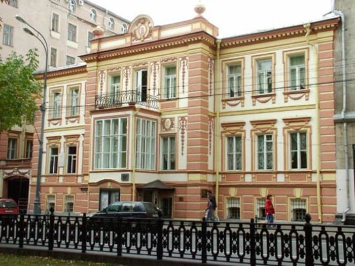 Дом-музей М. Ермоловой | Фото: maly.ru