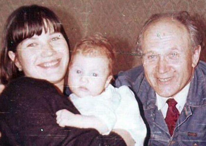 Екатерина Васильева с дочерью Марьяной и отцом | Фото: uznayvse.ru