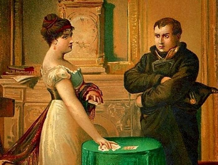 Мария Ленорман и Наполеон | Фото: liveinternet.ru