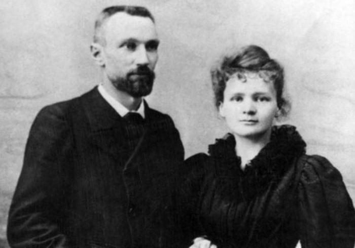 Мари и Пьер Кюри