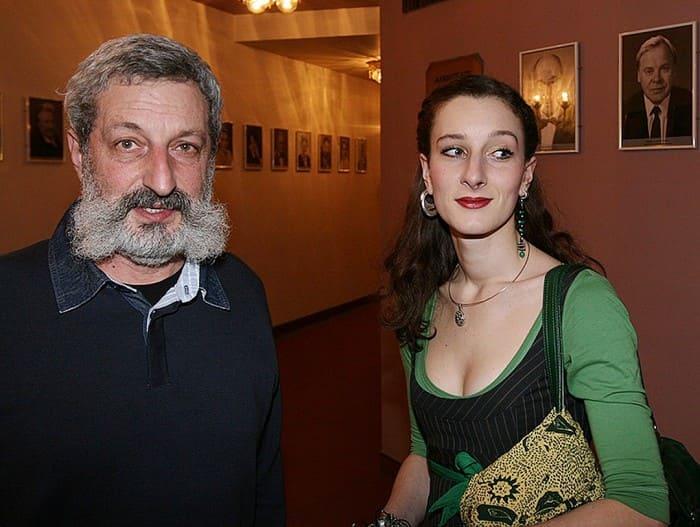 Мариэтта Цигаль-Полищук с отцом | Фото: irma-stream.ru