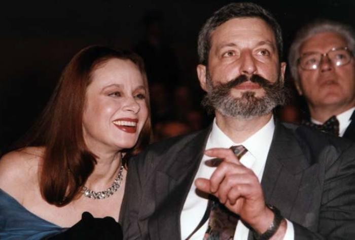 Любовь Полищук со вторым мужем, Сергеем Цигалем | Фото: liveinternet.ru