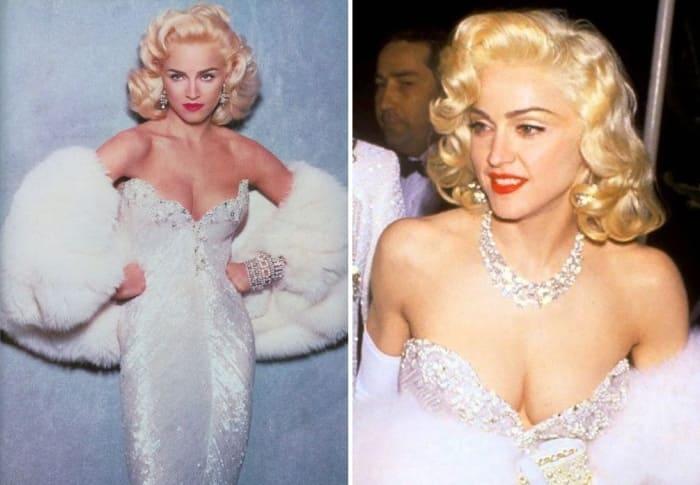 Мадонна в образе Мэрилин Монро | Фото: womanadvice.ru