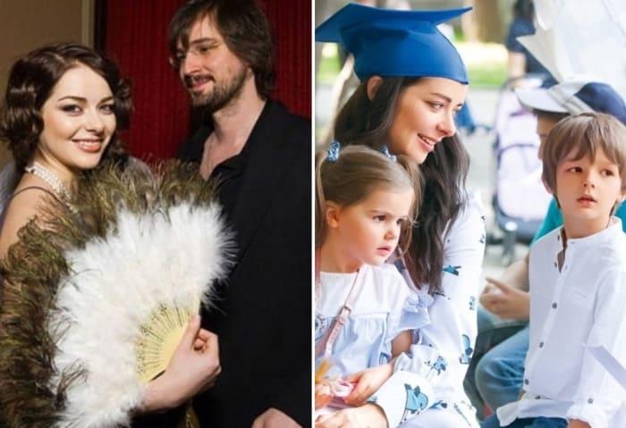 Актриса с мужем и детьми | Фото: news-n1.com