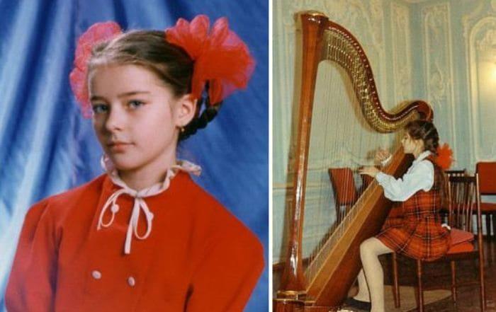 Марина Александрова в детстве   Фото: uznayvse.ru