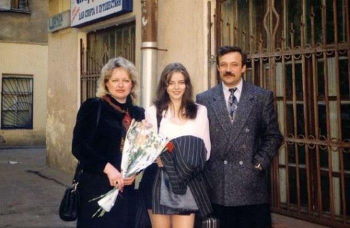 Марина Александрова с родителями | Фото: uznayvse.ru