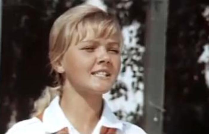 Марина Дюжева (тогда – еще Кукушкина) в фильме *Засекреченный город*, 1974 | Фото: kino-teatr.ru