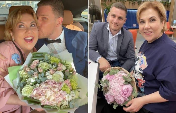 Марина Федункив и Стефано Маджи   Фото: starhit.ru