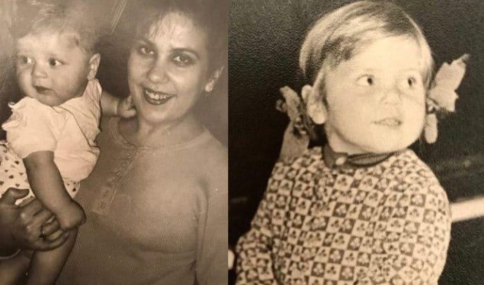 Марина в детстве с матерью   Фото: uznayvse.ru