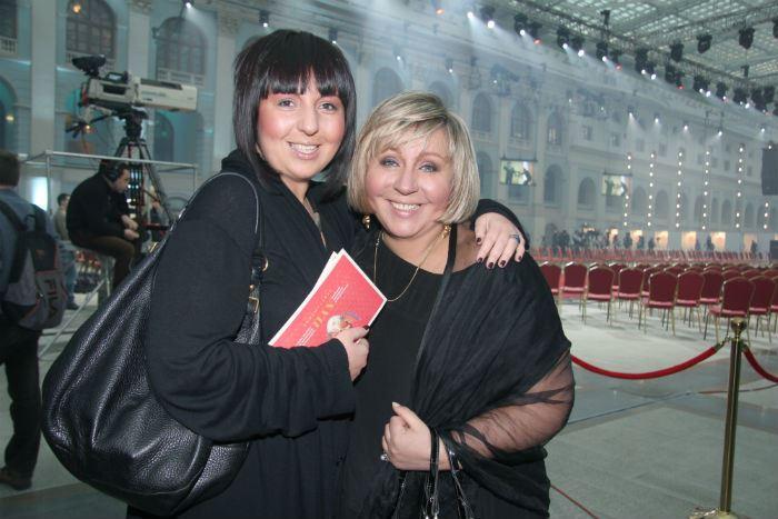 Марина Голуб с дочерью | Фото: teleprogramma.pro