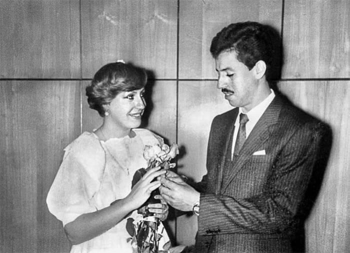 Актриса и ее первый муж Евгений Тройнин | Фото: biographe.ru