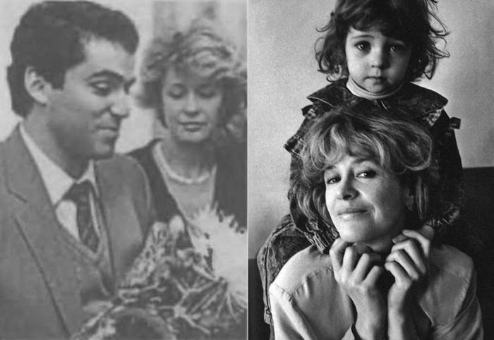 Слева – Гарри Каспаров и Марина Неелова. Справа – актриса с дочерью Никой | Фото: newrezume.org