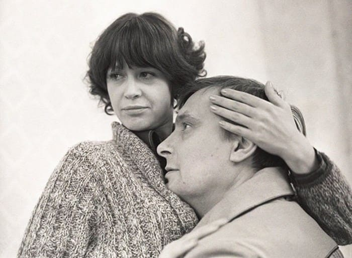 Марина Неелова и Олег Басилашвили в фильме *Осенний марафон*, 1979 | Фото: kino-teatr.ru