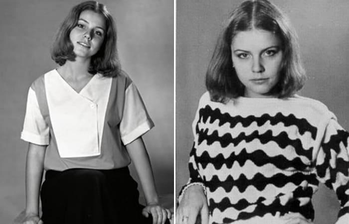 Актриса в юности | Фото: uznayvse.ru, stuki-druki.com