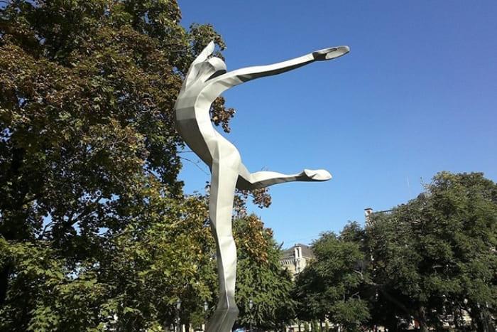 Памятник Марису Лиепе в Риге | Фото: 24smi.org